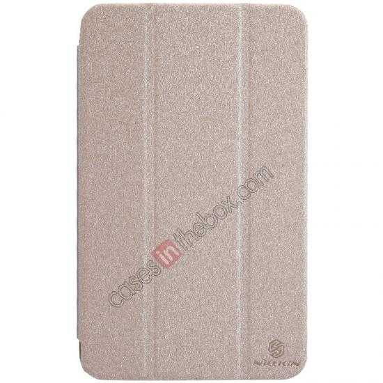 wholesale Nillkin Sparkle Leather Stand Case for Samsung Galaxy Tab 3 Lite 7 T110 - Champaign Gold