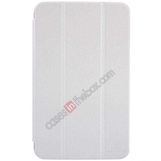 wholesale Nillkin Sparkle Leather Stand Case for Samsung Galaxy Tab 3 Lite 7 T110 - White