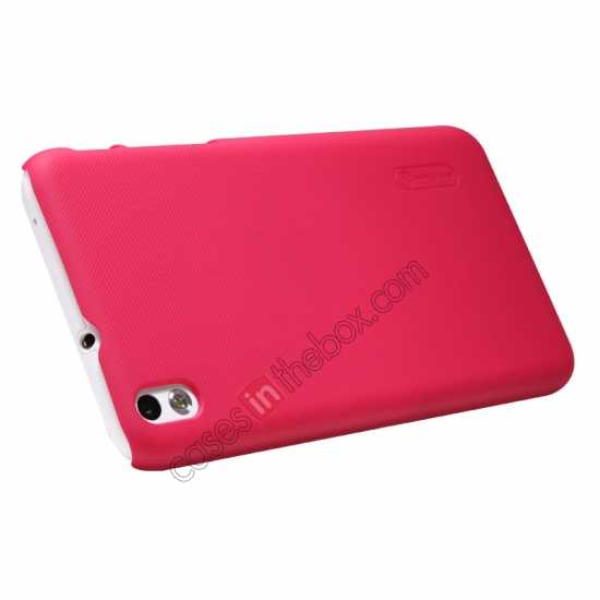 cheap Nillkin Super Frosted Shield Hard Case w/ Screen Film for HTC Desire 816 - Red