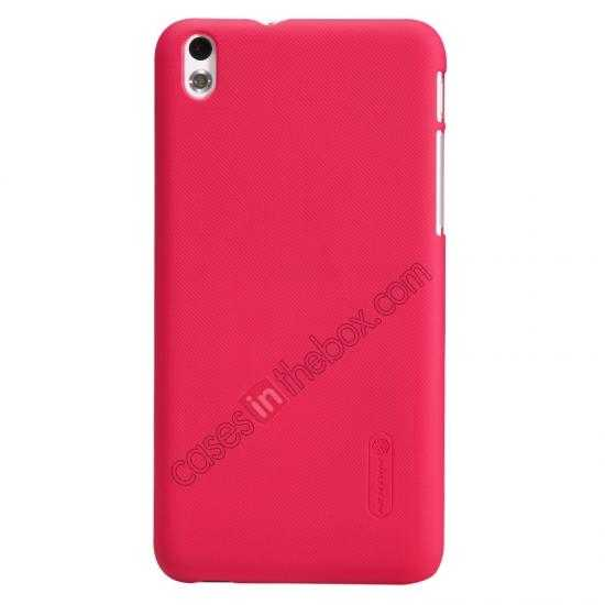 wholesale Nillkin Super Frosted Shield Hard Case w/ Screen Film for HTC Desire 816 - Red