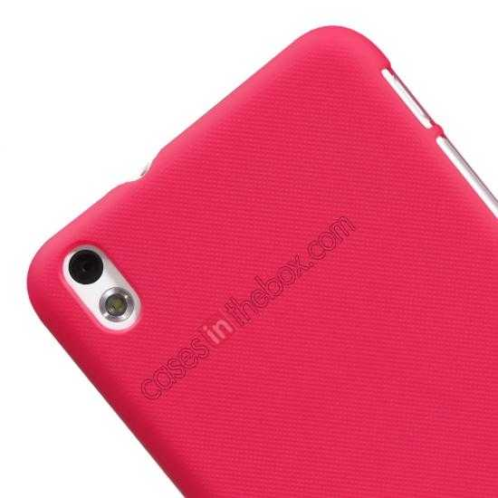best price Nillkin Super Frosted Shield Hard Case w/ Screen Film for HTC Desire 816 - Red