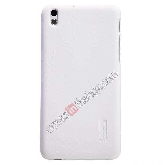 wholesale Nillkin Super Frosted Shield Hard Case w/ Screen Film for HTC Desire 816 - White