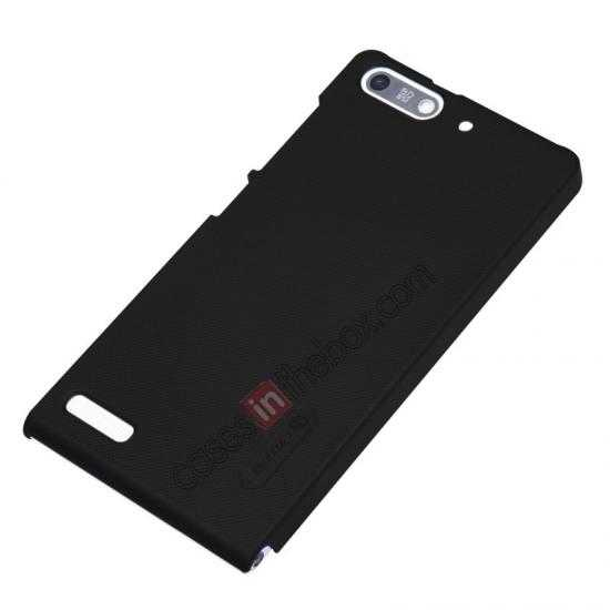 top quality Nillkin Super Frosted Shield Hard Case w/ Screen Film for HUAWEI Ascend G6 - Black