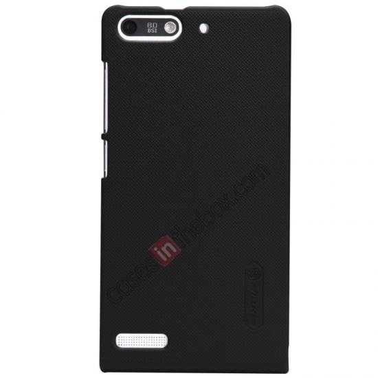 discount Nillkin Super Frosted Shield Hard Case w/ Screen Film for HUAWEI Ascend G6 - Black