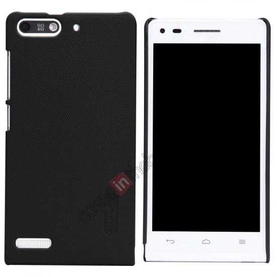 wholesale Nillkin Super Frosted Shield Hard Case w/ Screen Film for HUAWEI Ascend G6 - Black