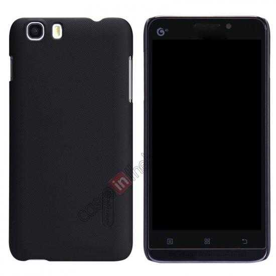 wholesale Nillkin Super Frosted Shield Hard Case w/ Screen Film for Lenovo A828T - Black