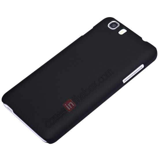 top quality Nillkin Super Frosted Shield Hard Case w/ Screen Film for Lenovo A828T - Black