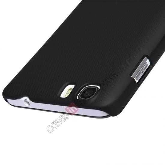best price Nillkin Super Frosted Shield Hard Case w/ Screen Film for Lenovo A828T - Black