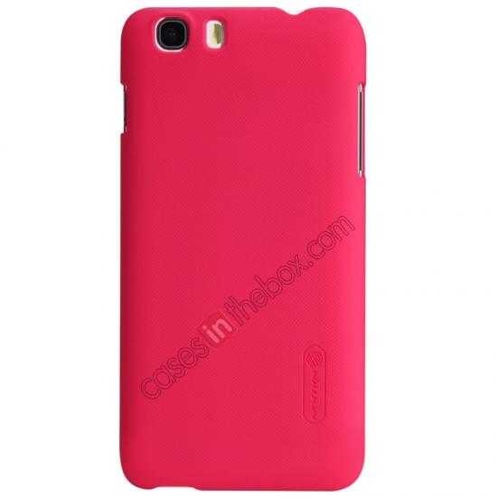 discount Nillkin Super Frosted Shield Hard Case w/ Screen Film for Lenovo A828T - Red