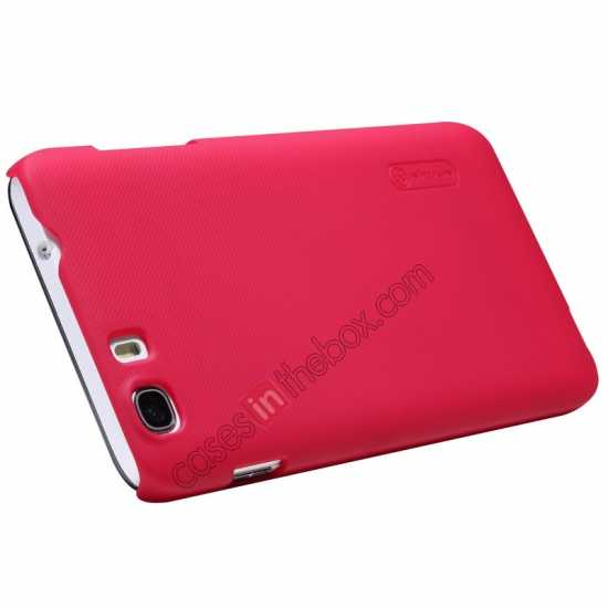 top quality Nillkin Super Frosted Shield Hard Case w/ Screen Film for Lenovo A828T - Red