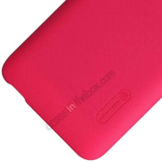 on sale Nillkin Super Frosted Shield Hard Case w/ Screen Film for Lenovo A828T - Red