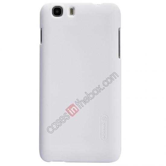 cheap Nillkin Super Frosted Shield Hard Case w/ Screen Film for Lenovo A828T - White