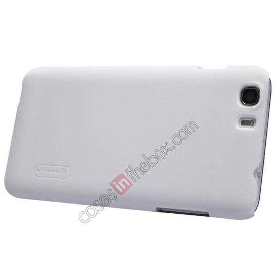 top quality Nillkin Super Frosted Shield Hard Case w/ Screen Film for Lenovo A828T - White