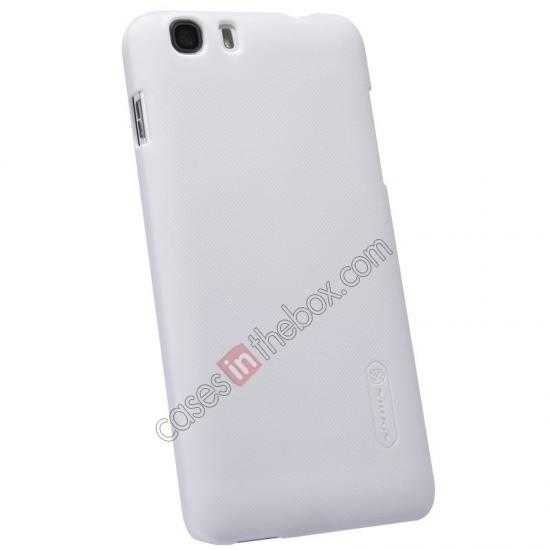 best price Nillkin Super Frosted Shield Hard Case w/ Screen Film for Lenovo A828T - White