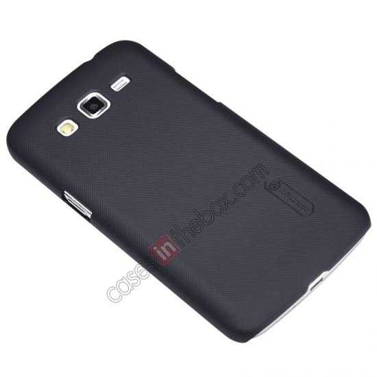 top quality Nillkin Super Frosted Shield Hard Case w/ Screen Film for Samsung Galaxy Grand 2/G7106 - Black