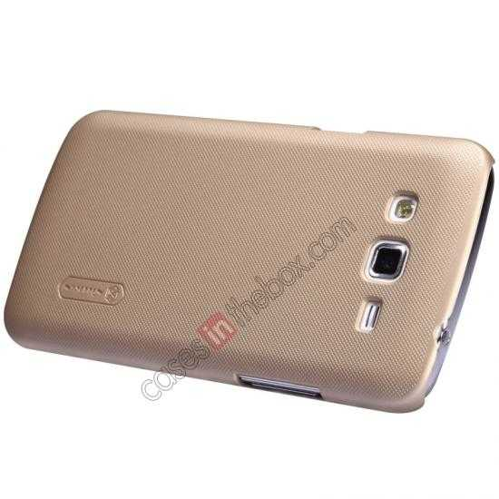 top quality Nillkin Super Frosted Shield Hard Case w/ Screen Film for Samsung Galaxy Grand 2/G7106 - Golden