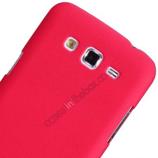 best price Nillkin Super Frosted Shield Hard Case w/ Screen Film for Samsung Galaxy Grand 2/G7106 - Red
