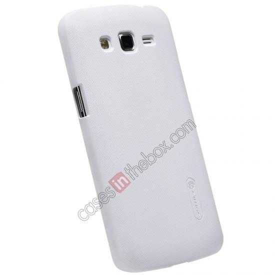 discount Nillkin Super Frosted Shield Hard Case w/ Screen Film for Samsung Galaxy Grand 2/G7106 - White