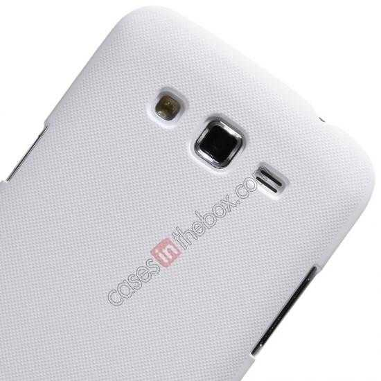 best price Nillkin Super Frosted Shield Hard Case w/ Screen Film for Samsung Galaxy Grand 2/G7106 - White