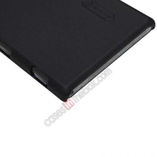 best price Nillkin Super Frosted Shield Hard Case w/ Screen Film for Sony Xperia M2 S50H - Black