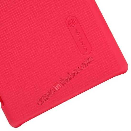 best price Nillkin Super Frosted Shield Hard Case w/ Screen Film for Sony Xperia M2 S50H - Red