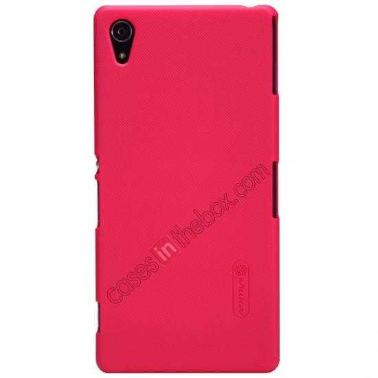 wholesale Nillkin Super Frosted Shield Hard Case w/ Screen Film for Sony Xperia Z2 L50t - Red
