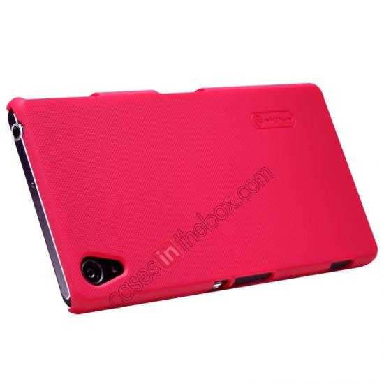 discount Nillkin Super Frosted Shield Hard Case w/ Screen Film for Sony Xperia Z2 L50t - Red