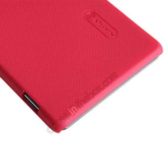 best price Nillkin Super Frosted Shield Hard Case w/ Screen Film for Sony Xperia Z2 L50t - Red