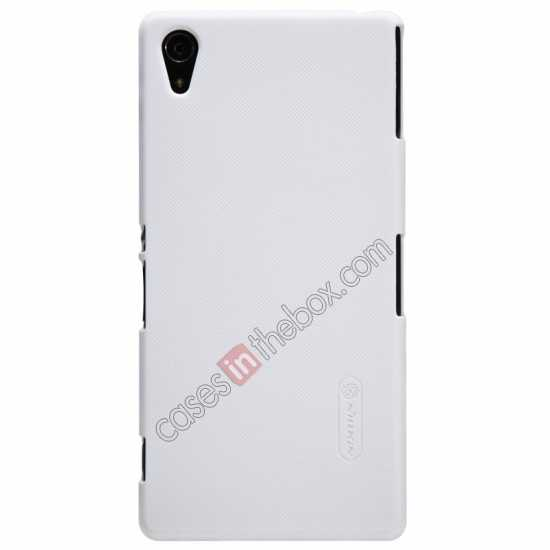 wholesale Nillkin Super Frosted Shield Hard Case w/ Screen Film for Sony Xperia Z2 L50t - White