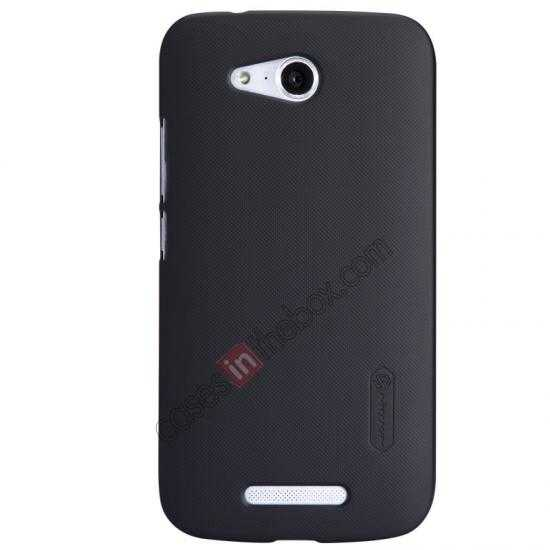 wholesale Nillkin Super Frosted Shield Hard PC Case for Huawei B199 w/ Screen Protector - Black