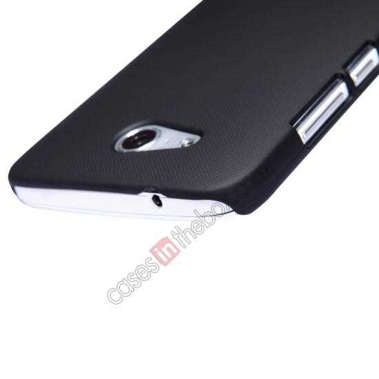 best price Nillkin Super Frosted Shield Hard PC Case for Huawei B199 w/ Screen Protector - Black