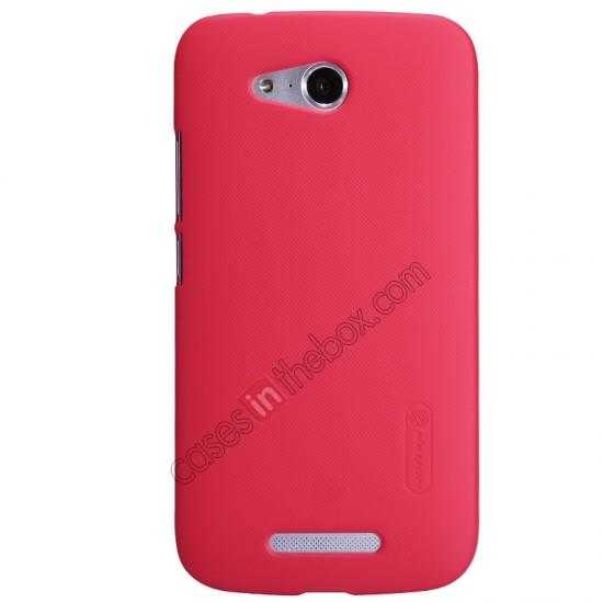 wholesale Nillkin Super Frosted Shield Hard PC Case for Huawei B199 w/ Screen Protector - Red