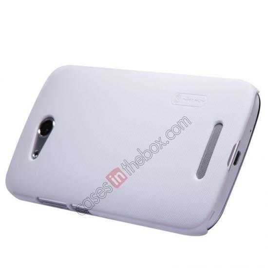 best price Nillkin Super Frosted Shield Hard PC Case for Huawei B199 w/ Screen Protector - White