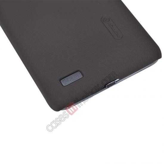 discount Nillkin Super Frosted Shield Hard PC Case for Lenovo S939 w/ Screen Protector - Brown