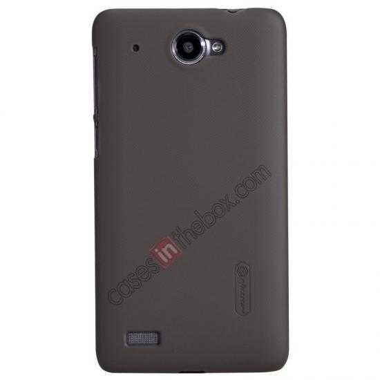 wholesale Nillkin Super Frosted Shield Hard PC Case for Lenovo S939 w/ Screen Protector - Brown