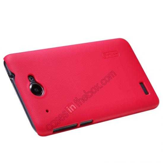 discount Nillkin Super Frosted Shield Hard PC Case for Lenovo S939 w/ Screen Protector - Red