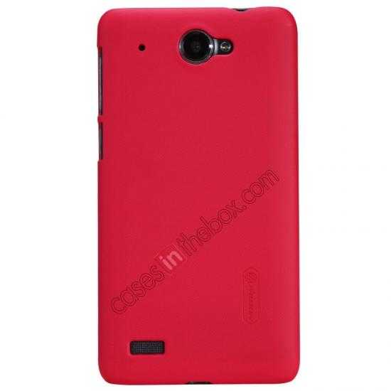 wholesale Nillkin Super Frosted Shield Hard PC Case for Lenovo S939 w/ Screen Protector - Red