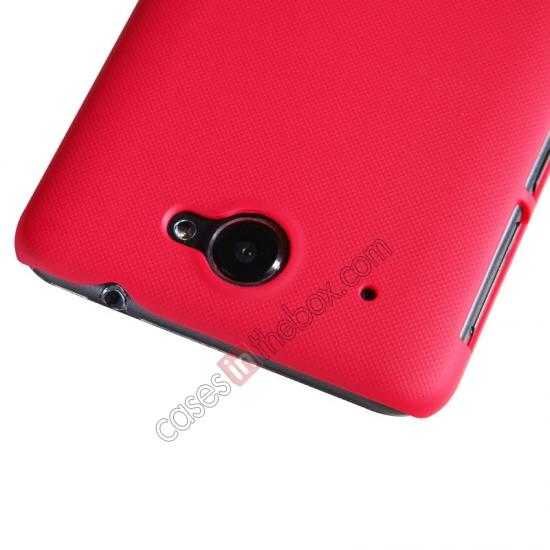 cheap Nillkin Super Frosted Shield Hard PC Case for Lenovo S939 w/ Screen Protector - Red