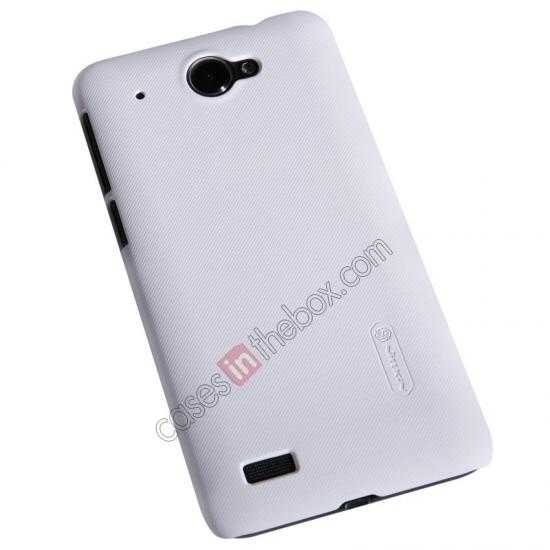 cheap Nillkin Super Frosted Shield Hard PC Case for Lenovo S939 w/ Screen Protector - White