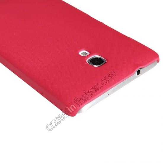 discount Nillkin Super Frosted Shield Plastic Back Case Cover for HUAWEI MATE 2 - Red