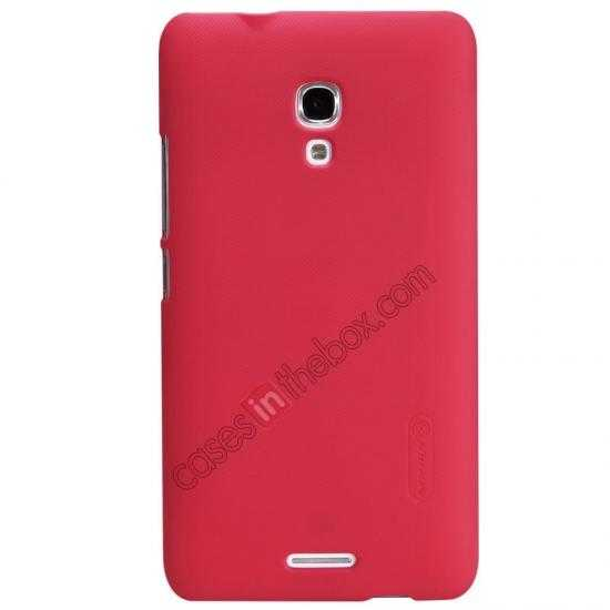 wholesale Nillkin Super Frosted Shield Plastic Back Case Cover for HUAWEI MATE 2 - Red
