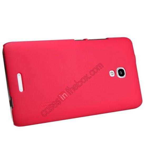 top quality Nillkin Super Frosted Shield Plastic Back Case Cover for HUAWEI MATE 2 - Red
