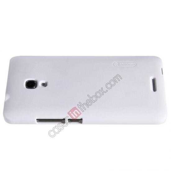 discount Nillkin Super Frosted Shield Plastic Back Case Cover for HUAWEI MATE 2 - White