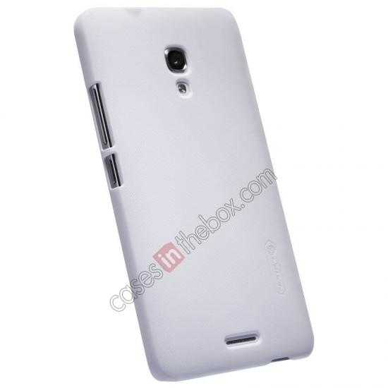 cheap Nillkin Super Frosted Shield Plastic Back Case Cover for HUAWEI MATE 2 - White