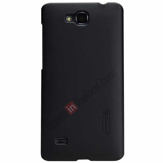 wholesale Nillkin Super Frosted Shield Plastic Cover Case for HUAWEI C8816 - Black