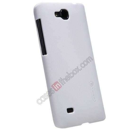 cheap Nillkin Super Frosted Shield Plastic Cover Case for HUAWEI C8816 - White