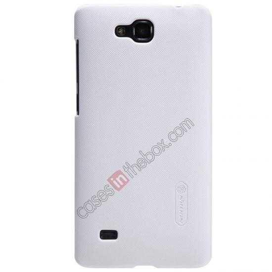wholesale Nillkin Super Frosted Shield Plastic Cover Case for HUAWEI C8816 - White