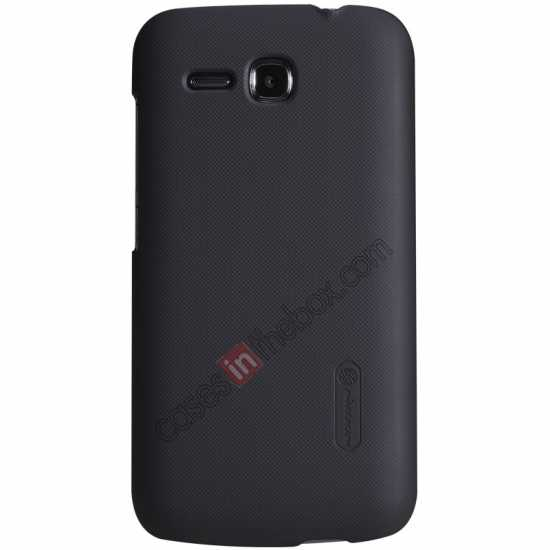 wholesale Nillkin Super Frosted Shield Plastic Cover Case for HUAWEI Y600 - Black