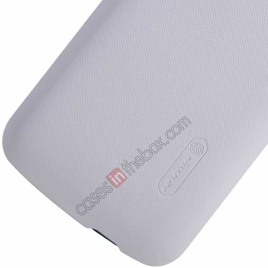 top quality Nillkin Super Frosted Shield Plastic Cover Case for HUAWEI Y600 - White