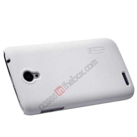 top quality Nillkin Super Frosted Shield Plastic Cover Case for Lenovo S650 - White